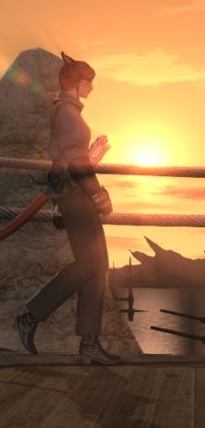 Nothing makes a sunset in Limsa better than a gun.
