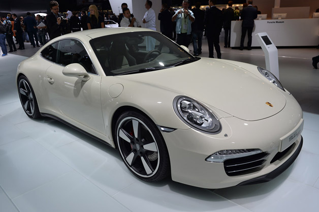 Porsche 911 50Th Edition Frankfurt