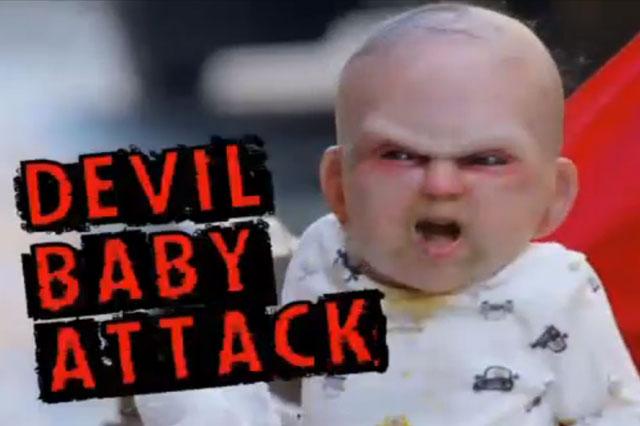 Devil baby attack