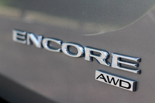 2013 Buick Encore badge