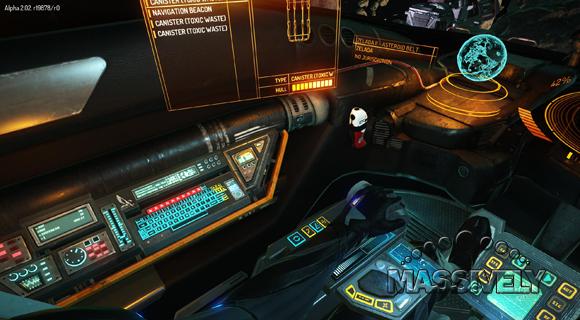Elite Dangerous cockpit left