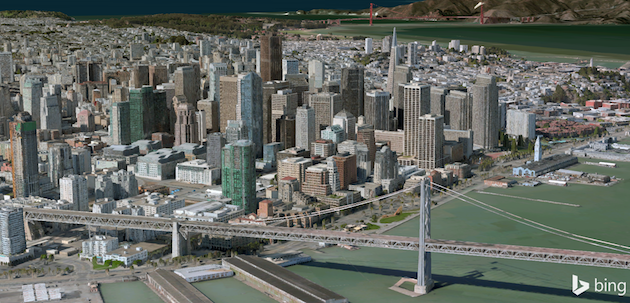 Bing Maps Preview Now Lets You Explore More Cities in 3D