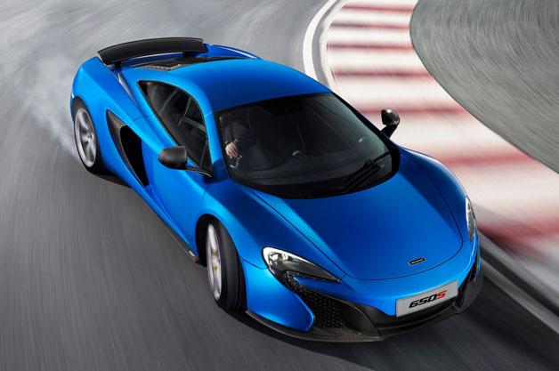 最高速度333km/h、0-100km/h 加速3秒フラット! マクラーレン「650S」の公式スペック