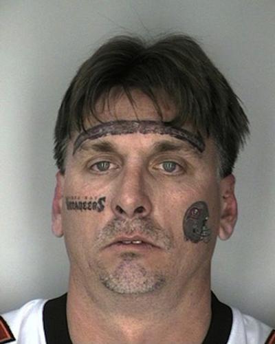 worst face tattoos tampa bay buccaneers idiot