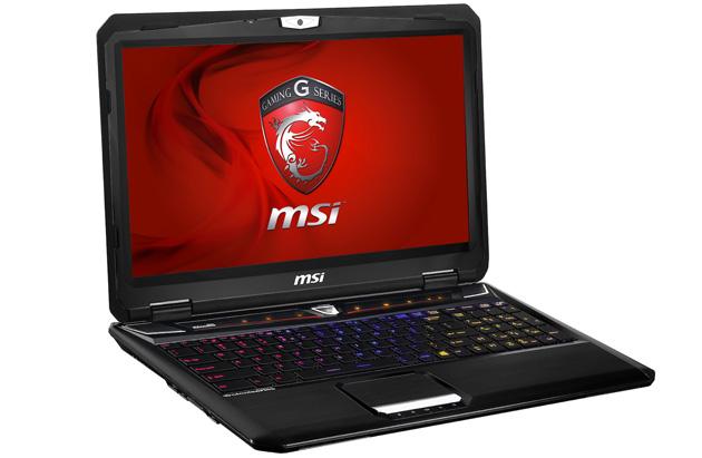 MSI GT60 laptop