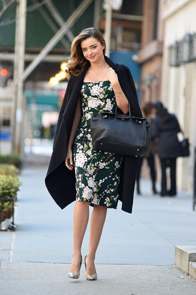 NEW YORK, NY - MARCH 26:  Model Miranda Kerr is seen on March 26, 2014 in New York City.  (Photo by NCP/Star Max/GC Images)