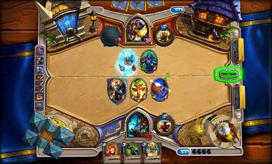 Hearthstone out now on PC and Mac
