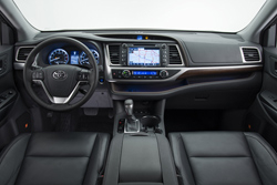 2014 Toyota Highlander dashboard