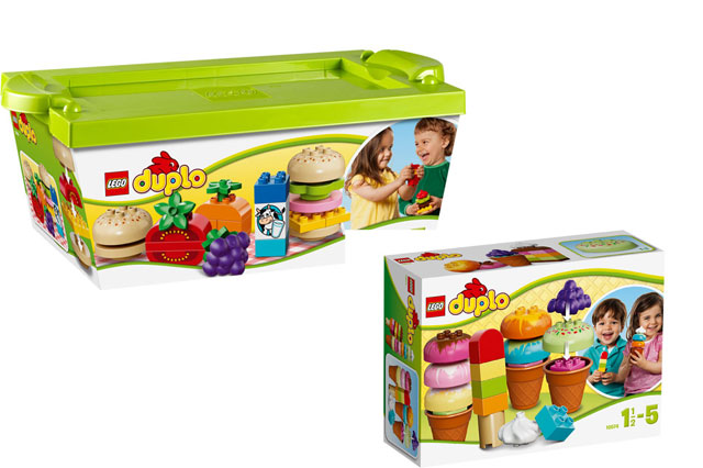 WIN Two fun foodie LEGO DUPLO sets