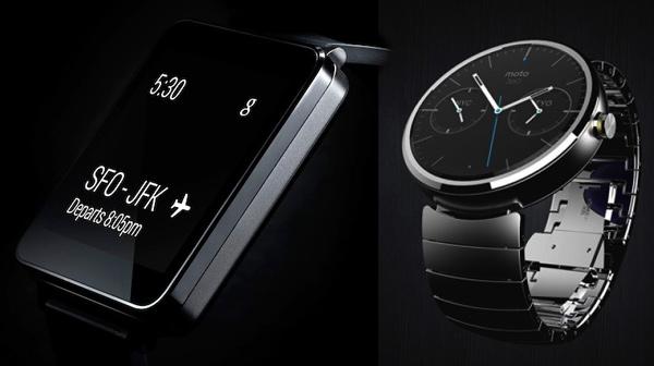 G Watch & Moto 360: LG und Motorola bringen noch im Sommer schlaue Android-Armbanduhren