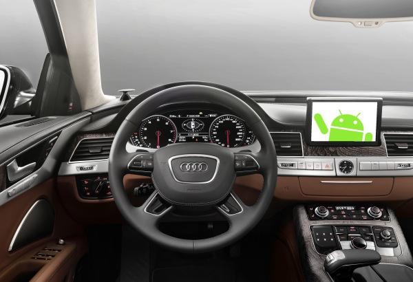 Android toma el volante: llegará a los modelos de Audi, GM, Honda y Hyundai