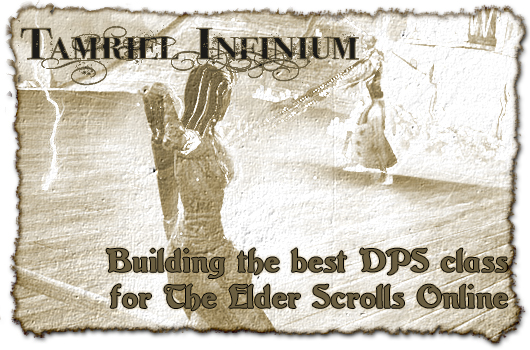 Tamriel Infinium: Building the best DPS class for ESO