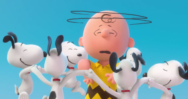 peanuts 3d movie teaser trailer