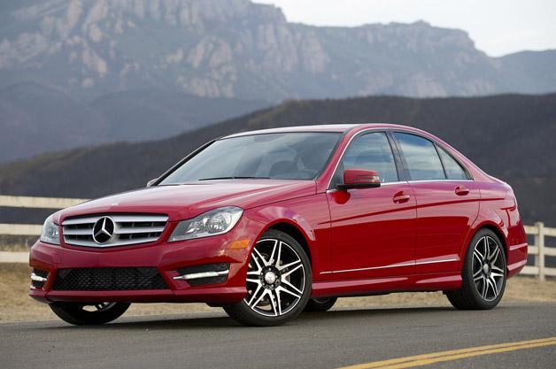 2013 mercedes benz c250 sport for Mercedes benz service b cost c300