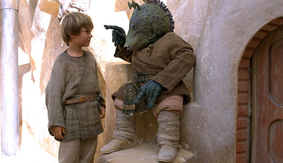 Anakin and I guess that's Greedo?