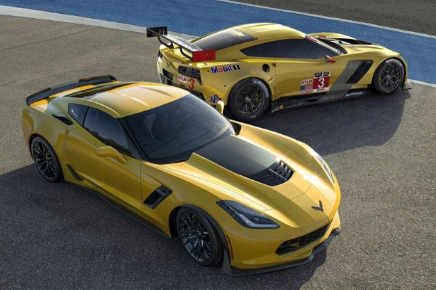 Chevrolet Corvette Z06 and C7.R