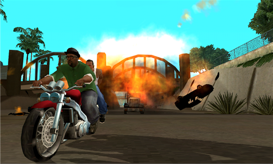 GTA: San Andreas se estrena por fin en los primeros Windows Phones