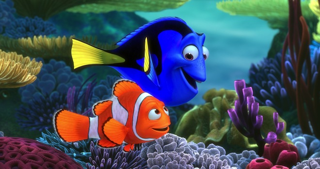 FINDING NEMO, Marlin, Dory, 2003, (c) Walt Disney/courtesy Everett Collection