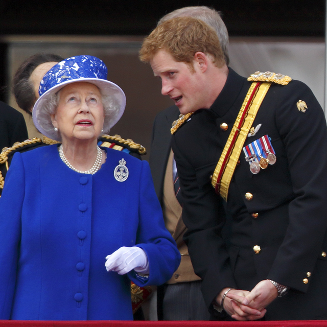 prince harry queen elizabeth II