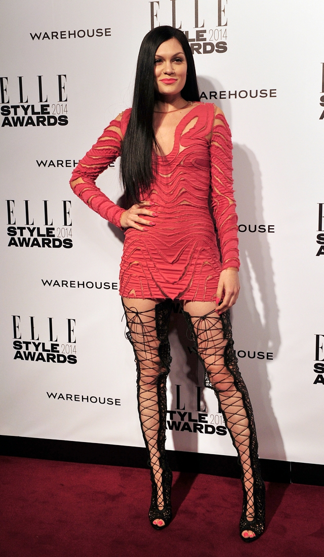 jessie-j-elle-style-awards-2014