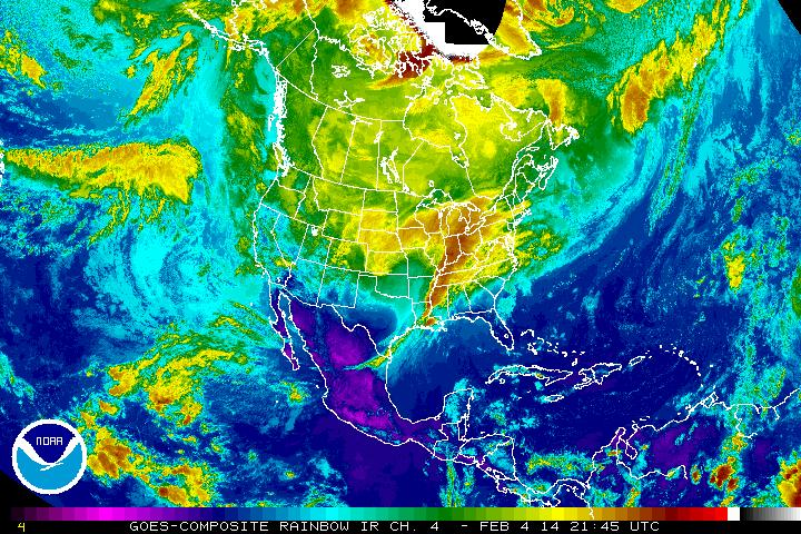Storm Satellite Image