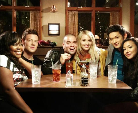 Glee 100th episode reunion original cast members