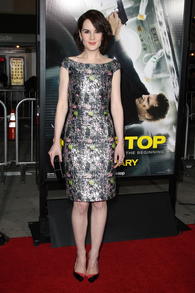 michelle-dockery-non-stop-film-premiere-los-angeles