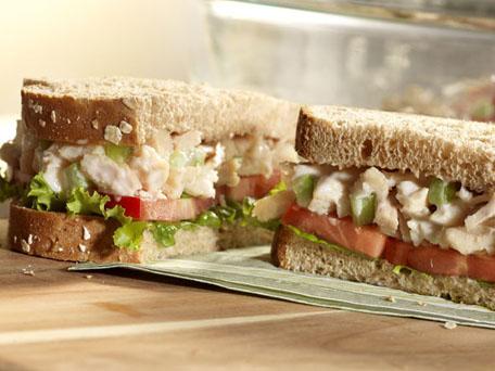 Lowfat Chicken Salad Sandwiches