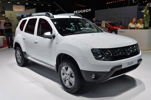 Renault Duster White Wallpaper Renault Duster 2014 White