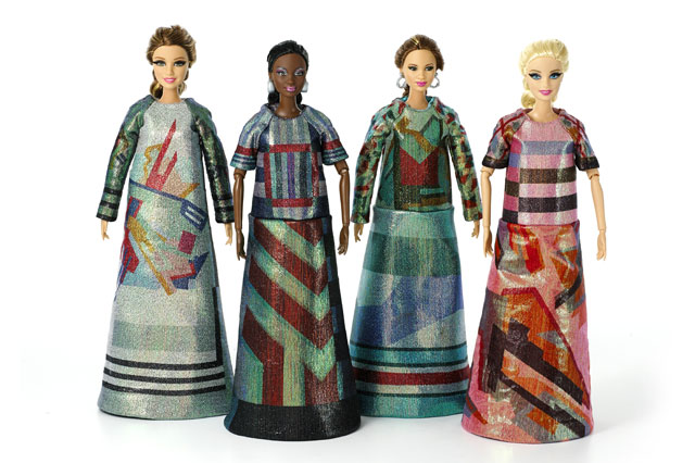 Barbie gets makeover for Fashion Week