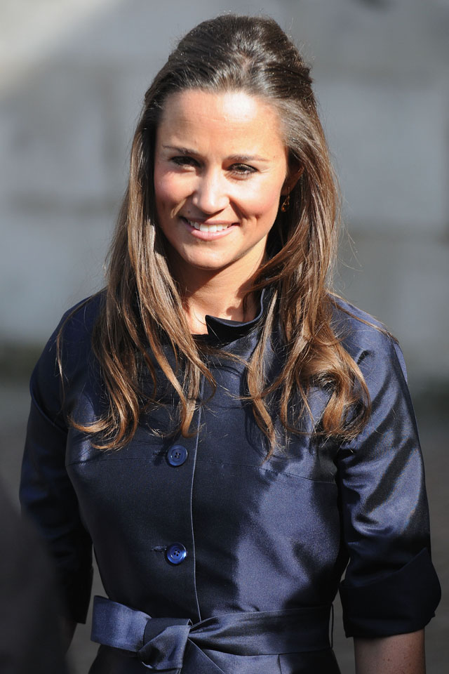 LONDON, ENGLAND - MARCH 13:  Pippa Middleton attends a memorial service for Sir David Frost at Westminster Abbey on March 13, 2014 in London, England.  (Photo by Eamonn McCormack/WireImage)