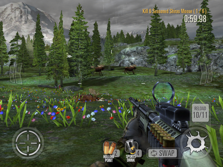 Deer Hunter 2014 allows you to hunt even when hunting season is over