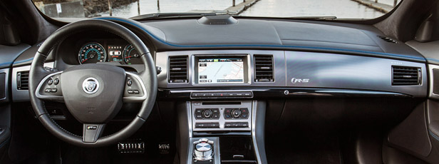 2013 Jaguar XFR-S interior
