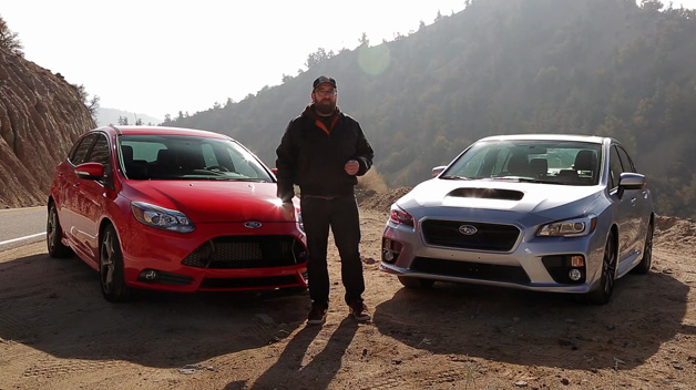 Motor Trend: Head 2 Head Ford Focus ST vs. Subaru WRX