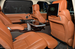 2014 Land Rover Range Rover Autobiography LWB Black interior