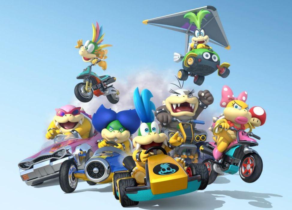 All 7 Koopalings Will Be Playable Characters in Upcoming Mario Kart