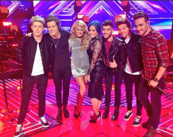 One Direction X Factor finale Midnight Memories
