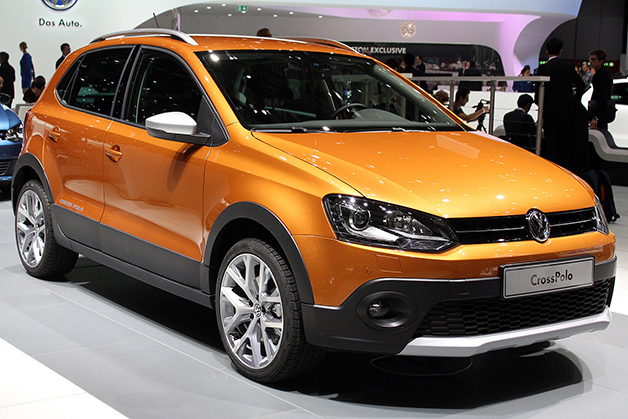 Volkswagen CrossPolo at the 2014 Geneva Motor Show