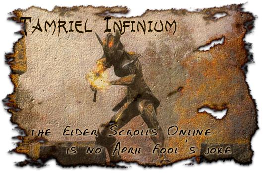 Tamriel Infinium: The Elder Scrolls Online is no April Fool's joke