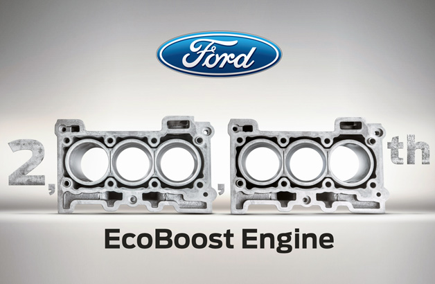Ford has built its two-millionth EcoBoost engine