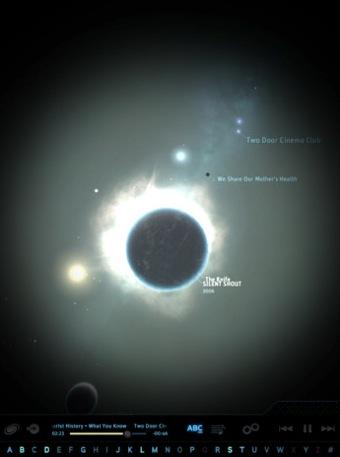 Screenshot of Planetary, an iPad App by Bloom Studio