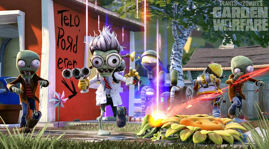Plants vs. Zombies: Garden Warfare Goes