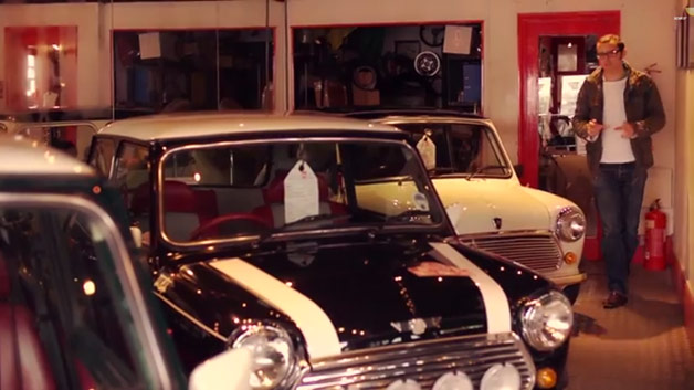 XCAR host with Mini Cooper collection