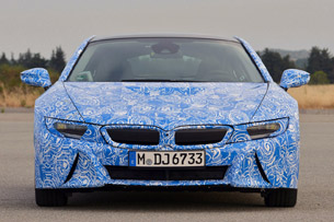 2014 BMW i8 Prototype front view