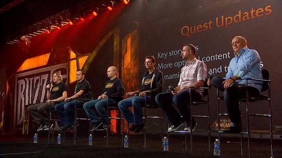 BlizzCon Quest Panel