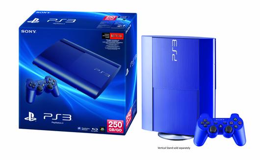 Azurite Blue PS3 becomes GameStop exclusive Oct. 8