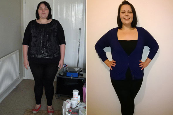 Lauren Thomas lost 10 stone after being mistaken for her own mother