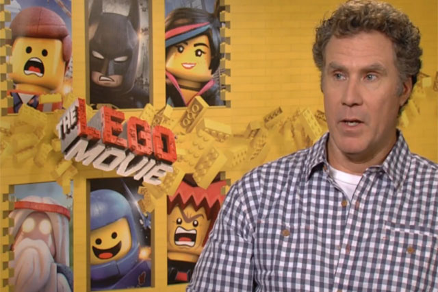 Will Ferrell interview, The LEGO Movie
