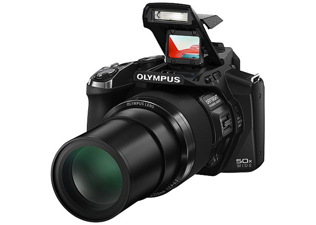 Olympus Stylus SP-100: Una bridge con