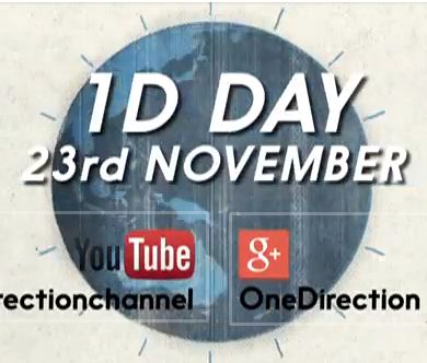 What time is 1D day november 23 One Direction timezones